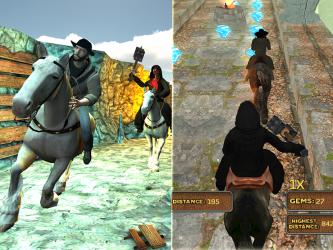 Captura 8 de Templo del Caballo Run 3D para android