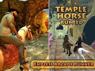 Captura de Pantalla 10 de Templo del Caballo Run 3D para android