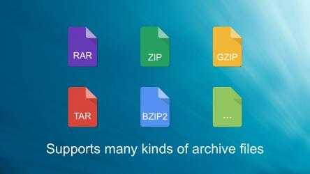 Captura de Pantalla 1 de BreeZip: Rar, Zip & 7z Extractor para windows