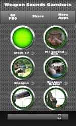 Screenshot 2 de Armas - Sonidos e Tonos Para Celular para windows