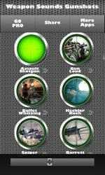 Captura de Pantalla 7 de Armas - Sonidos e Tonos Para Celular para windows