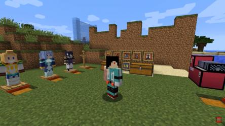 Screenshot 2 de Mod My hero academia Minecraft - Boku no hero Skin para android