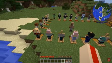 Captura 3 de Mod My hero academia Minecraft - Boku no hero Skin para android