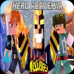 Captura 1 de Mod My hero academia Minecraft - Boku no hero Skin para android