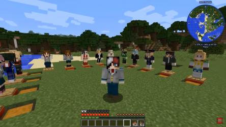 Screenshot 4 de Mod My hero academia Minecraft - Boku no hero Skin para android