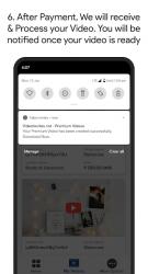 Captura 7 de Video Invitation Maker - Wedding, Birthday, Events para android