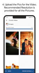Captura de Pantalla 5 de Video Invitation Maker - Wedding, Birthday, Events para android
