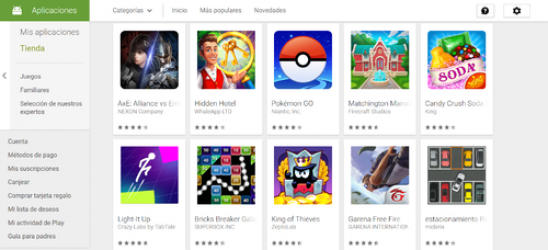 Imágen 4 de Google play para windows