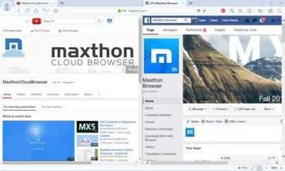Captura de Pantalla 4 de Maxthon para windows