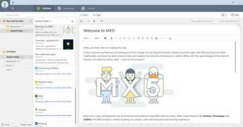 Captura 3 de Maxthon para windows