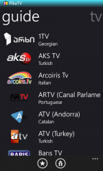 Captura de Pantalla 1 de Pika TV para windows