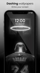 Captura de Pantalla 4 de 🏀 NBA Wallpapers 2021 - Basketball Wallpapers HD para android