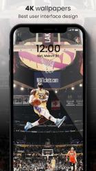 Screenshot 3 de 🏀 NBA Wallpapers 2021 - Basketball Wallpapers HD para android