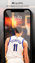 Captura 6 de 🏀 NBA Wallpapers 2021 - Basketball Wallpapers HD para android