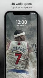 Captura de Pantalla 9 de 🏀 NBA Wallpapers 2021 - Basketball Wallpapers HD para android