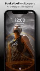 Screenshot 2 de 🏀 NBA Wallpapers 2021 - Basketball Wallpapers HD para android