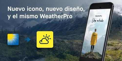 Captura de Pantalla 2 de WeatherPro: pronóstico, radar y widgets para android