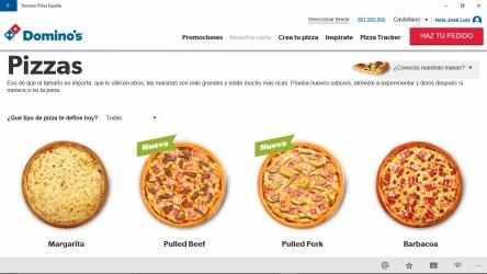 Captura de Pantalla 5 de Dominos Pizza España para windows