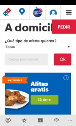Captura 9 de Dominos Pizza España para windows