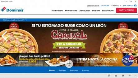Imágen 1 de Dominos Pizza España para windows