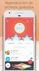 Screenshot 3 de Call Recorder - Grabador de llamadas - CallsBOX para android