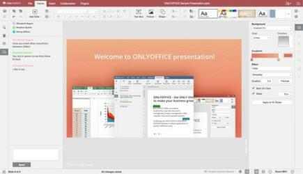 Captura de Pantalla 2 de Onlyoffice para windows