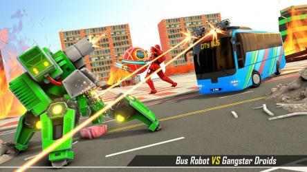 Imágen 7 de Bus Robot Transform Ball Game para android