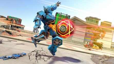 Captura 8 de Bus Robot Transform Ball Game para android
