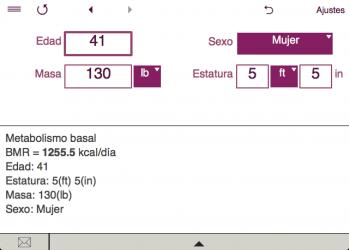 Imágen 4 de TDEE + BMR + BMI Calculator para windows