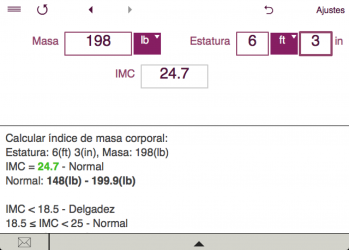 Screenshot 6 de TDEE + BMR + BMI Calculator para windows