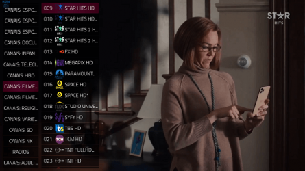 Screenshot 5 de Duplex IPTV 4k player TV Box Clue para android