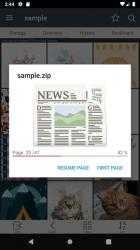 Screenshot 6 de ComicScreen - ComicViewer para android