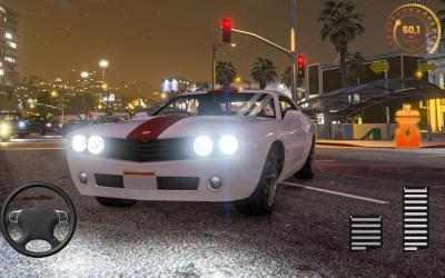 Captura de Pantalla 12 de Super Car Simulator 3D: juego de coches urbanos para android