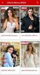 Captura de Pantalla 4 de ¡HOLA! México para android