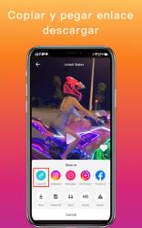 Captura de Pantalla 2 de Descargador para Likee - sin marca de agua para android