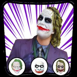 Captura de Pantalla 1 de Photo Editor For Joker Mask para android