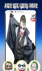 Captura 3 de Photo Editor For Joker Mask para android