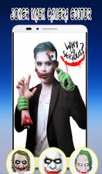 Captura de Pantalla 2 de Photo Editor For Joker Mask para android