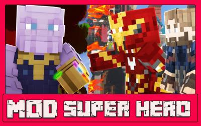Captura 6 de Mod Super Hero - For MCPE para android