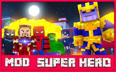 Imágen 3 de Mod Super Hero - For MCPE para android