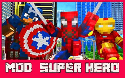 Captura 4 de Mod Super Hero - For MCPE para android
