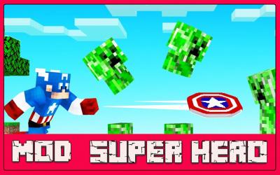 Screenshot 2 de Mod Super Hero - For MCPE para android