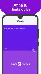 Captura 8 de tonestro FLAUTA DULCE: Clases, Canciones, Afinador para android