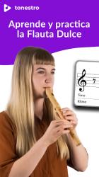 Captura de Pantalla 2 de tonestro FLAUTA DULCE: Clases, Canciones, Afinador para android