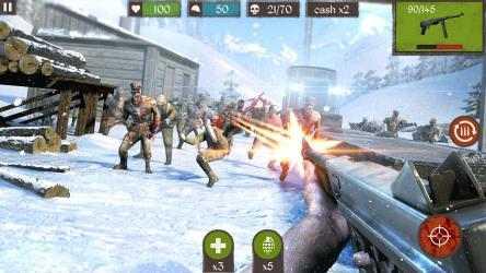 Captura 2 de Dead Zombie Call: Trigger the Shooter Duty 5 (FPS) para windows