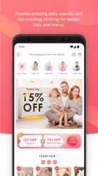 Screenshot 2 de PatPat: Ropa Infantil - Ofertas diarias para mamás para android