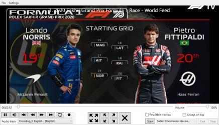 Captura de Pantalla 3 de F1 Race Control para windows