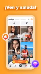 Captura de Pantalla 9 de Amigo-Chat Rooms, Real Friends para android