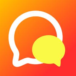 Screenshot 1 de Amigo-Chat Rooms, Real Friends para android