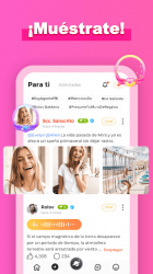 Captura de Pantalla 6 de Amigo-Chat Rooms, Real Friends para android